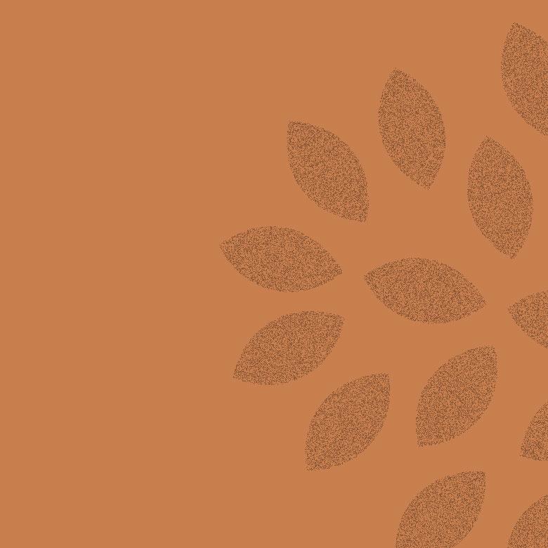 carre-couleur-brun-fleurs